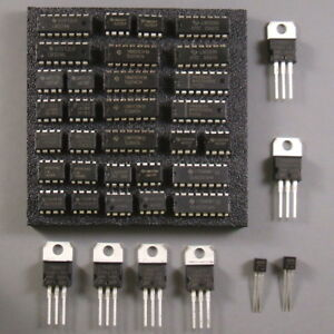 Linear IC Kit – Analog Assortment of Op Amps, Comparators,  Regulators and More