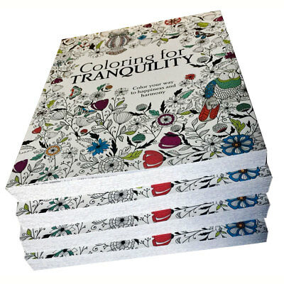 Coloring for Tranquility Coloring Book 288 Pages LOT OF 5, for Young & Adults NW - Coloring Page For Adults