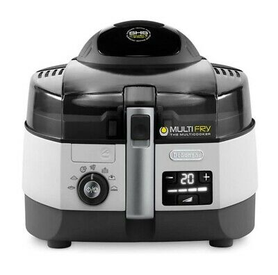 DeLonghi Friggitrice ad aria Multicooker Multifry FH1394/2 1000+1400W DE'LONGHI