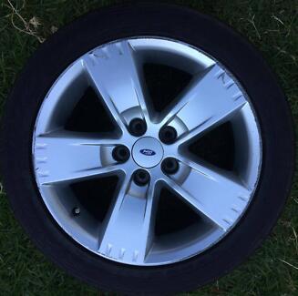 1x Ford Falcon BF Ser2 XR6 XR8 XR6T turbo rim wheel 17inch