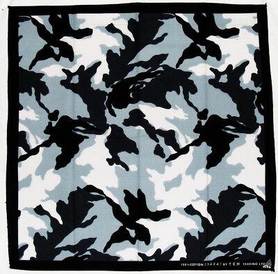 Armee Bandana (k007 - Camouflage Armee Army Tarn Muster Kopftuch Bandana Halstuch Tuch Biker)