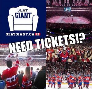 MONTREAL CANADIENS TICKETS FROM $39!!!