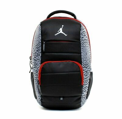 Nike Jordan Jumpman Premium Backpack 9A1640-176 Laptop Compartment Elephant