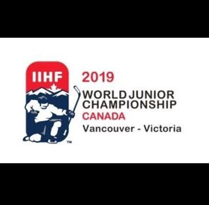 IIHF WORLD JUNIOR HOCKEY TICKETS FROM $20 CAD!!!