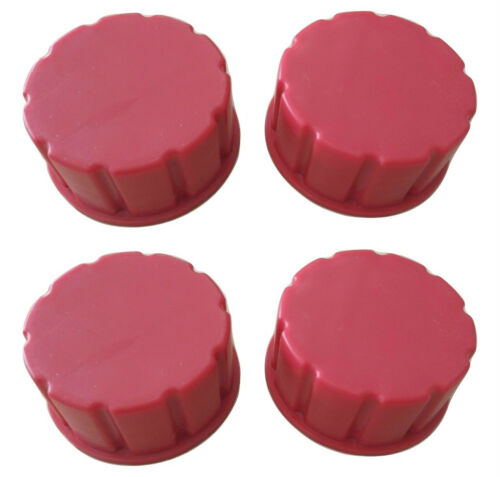 Gas Can Replacement Solid Base Caps Coarse Thread-4 Pack