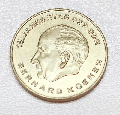 Medaille 15. Jahrestag der DDR Bernhard Koenen (kein edles Metall)