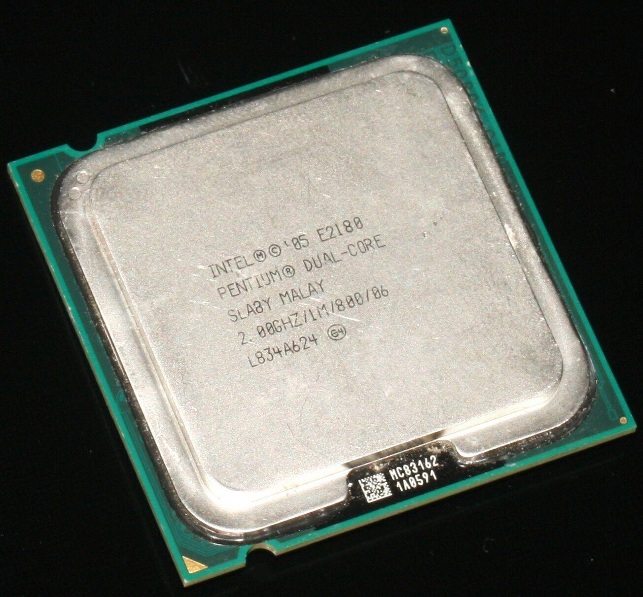 Intel Pentium Dual Core E2180 Dual Core, 2,00GHz/1M/800