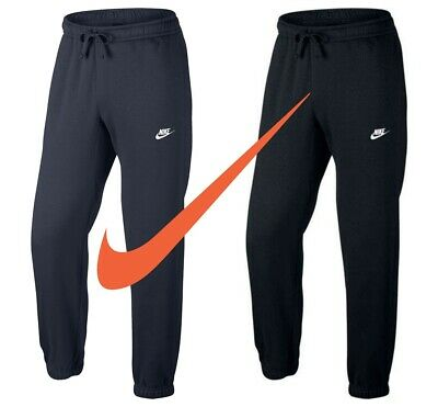 Nike Mens Tracksuit Bottoms Joggers Club Fleece Trouser Jogging Sweatpants Size