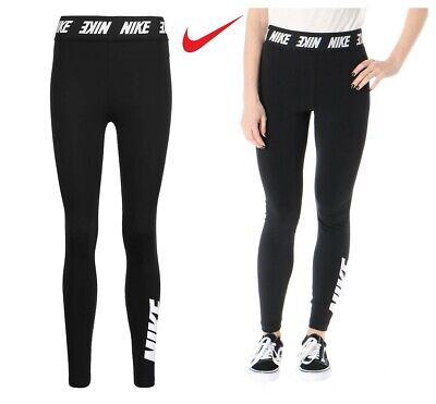 Nike Gym Leggings Womens Club Dri Fit Legging Yoga Pants Leggins Joggers