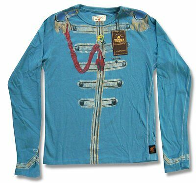 The Beatles & Trunk Designer lonely Hearts Blue L/s Shirt Kids 2