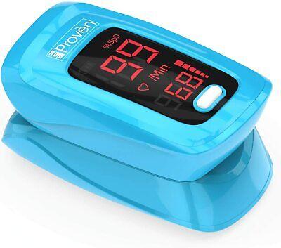 Iproven Pulse Oximeter Fingertip - Blood Oxygen O2 Saturation Level Monitor