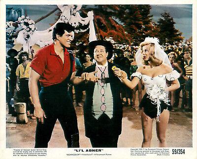 Vintage 1950's Lot 3 Li'L Abner Technicolor Movie Still Photo Julie Newmar