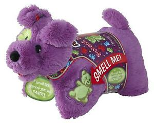 Pillow Pets Yummi Gummi Candy Scented Pup Dog Chenile Plush Genuine Mookie GIFT