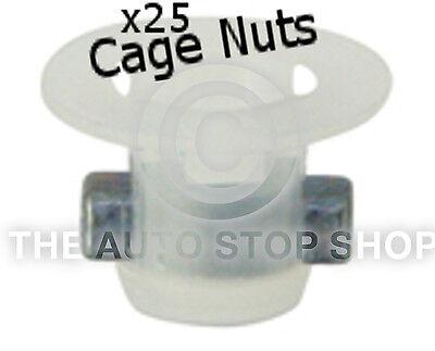 CAGENUTS GESTECKT LOCH LOCH 6MM BREITE 1 8MM PEUGEOT 408 USW 405PE 25ER PACK