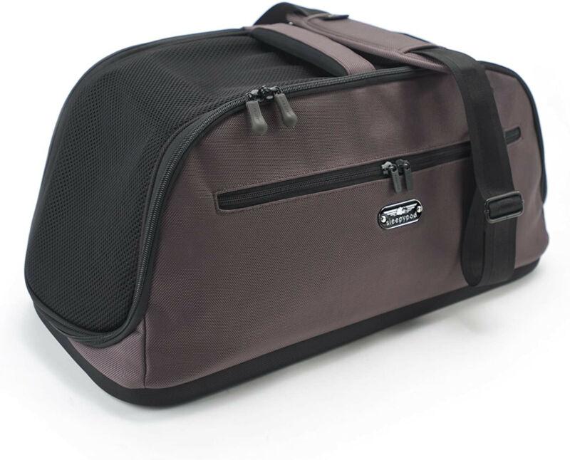Sleepypod Air Travel Pet Carrier Bed - Dark Chocolate