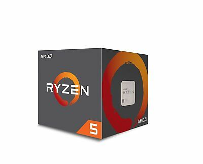 New AMD Ryzen 5 1600 3.2GHz Six-Core AM4 Processor 3.6GHz Max Turbo Frequency