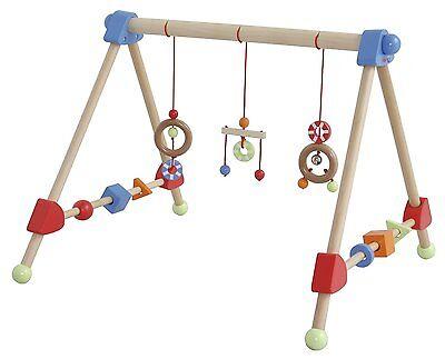 Baby Roba Spielbogen Holztrapez Lernspielstatio für Lernen Learning Spiele Fun