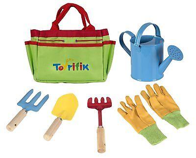 (Little Gardener Tool Set With Garden Tools Bag For Kids Gardening)