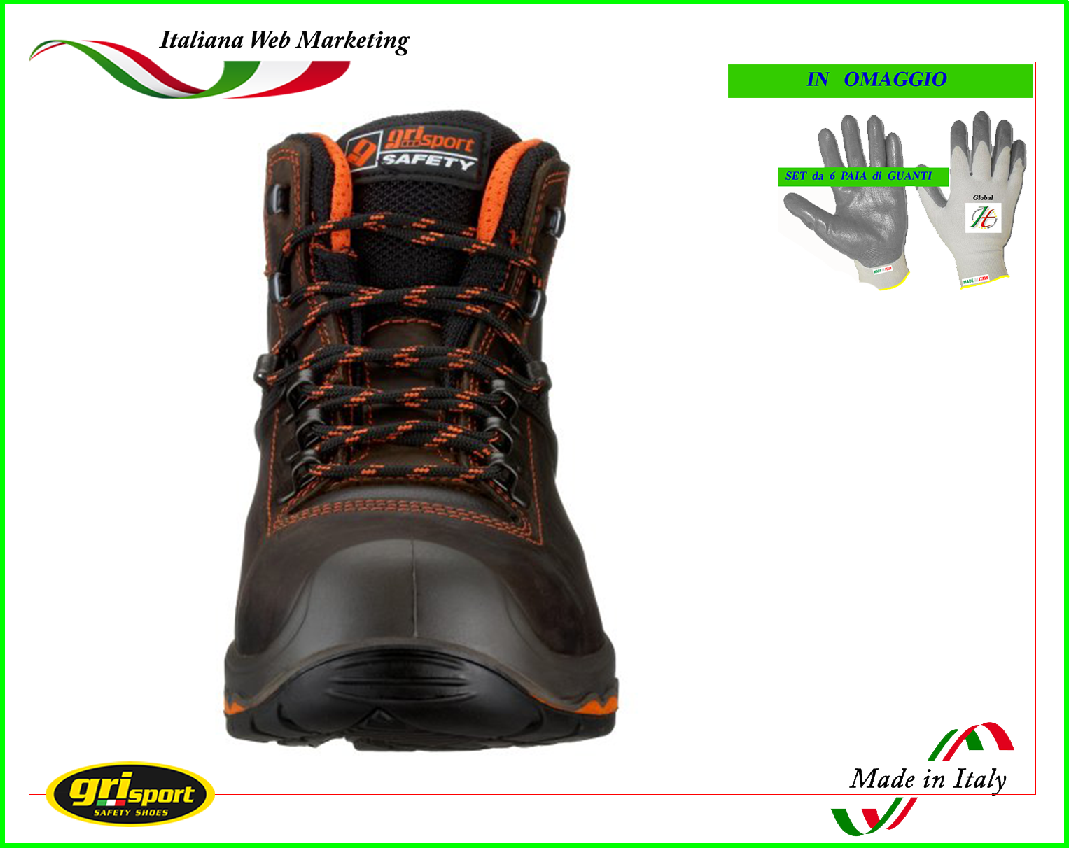 Taglie CONCESSIONARIO di sicurezza nero Worksite Stivali 5-13 STEEL TOE e intersuola SS600SM