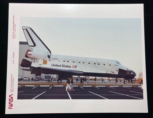 SPACE SHUTTLE STS ATLANTIS  SPECIAL INTEREST NASA RED LETTER KODAK PHOTO