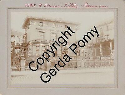 Henry Steiner (Silversmith in Adelaide) and Villa Steiner in Hannover - 4 photos