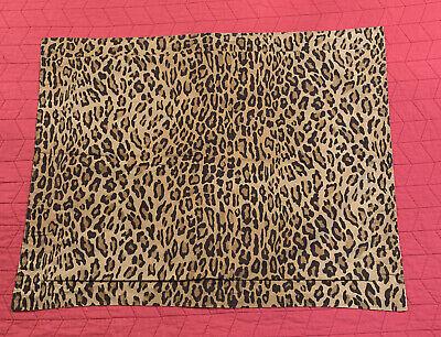 Ralph Lauren ARAGON Animal Print Midieval Guinevere Galahad Standard Pillow Sham