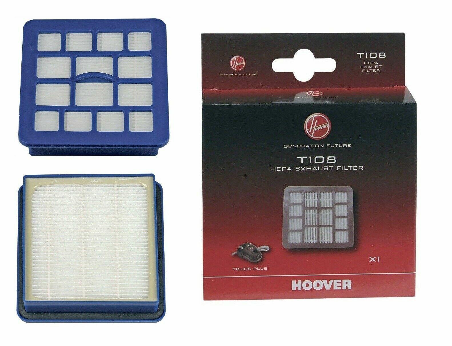 Hoover 35601289,T108 HEPA-Filter für TE70.. Telios Plus Bodenstaubsauger