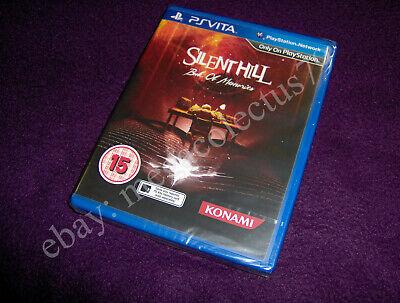 PLAYSTATION PS VITA ///Silent Hill Book Of Memories\ PAL UK BBFC NEW SEALED comprar usado  Enviando para Brazil