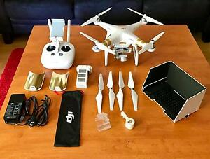 DJI Phantom 3 Professional (flown 4 times) plus EXTRAS - Like NEW West Perth Perth City Area Preview