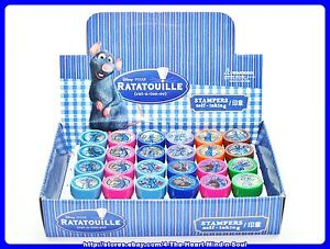 12-Disney-Ratatouille-Remy-Self-Ink-Stamps-Party-Favors-New-Free-Shipping