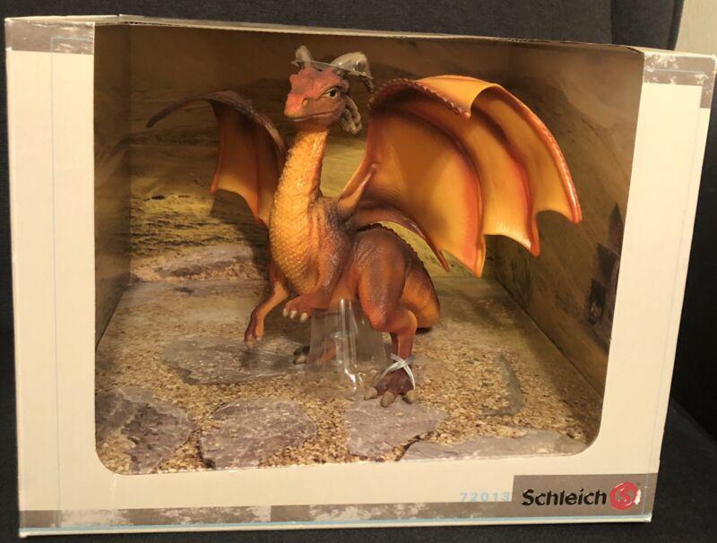 Schleich 70213 Red Faraun Dragon Germany Exclusive RARE HTF