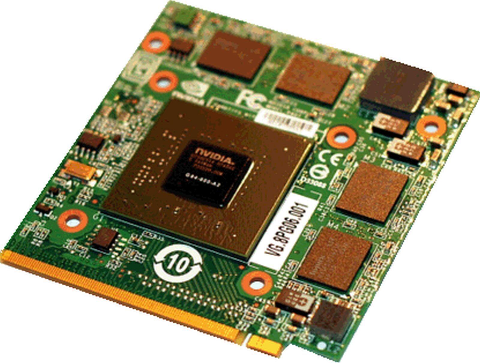 NVIDIA GeForce 8600m GT VGA Grafikkarte Reparatur ( für Acer Aspire 7720 7720G )