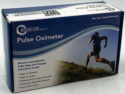 Roscoe Fingertip Pulse Oxygen Heart Oximeter With Lanyard - 092237621981
