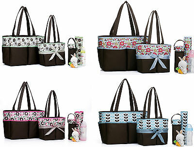 New 4Pcs Baby Diaper Nappy Bag (BB641)