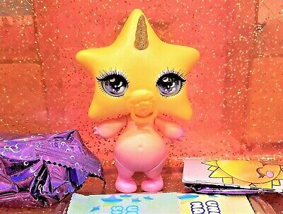 Poopsie Rainbow Surprise Sparkly Critters STARLIGHT Star Slime Figure Out Of Can