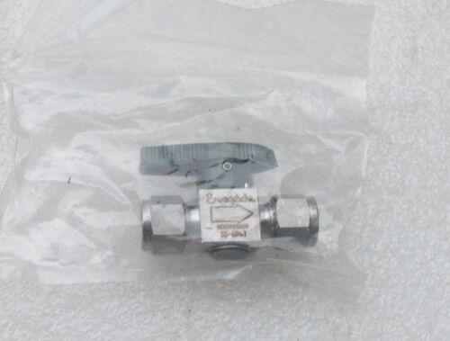 "Swagelok 3/8""  Stainless Steel Instrument Plug Valve SS-6P4T  New"