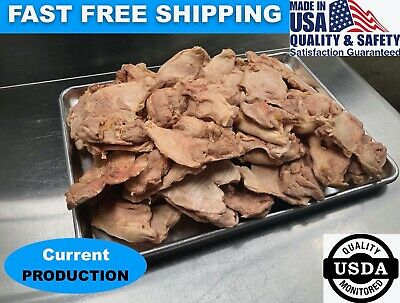 BULK Freeze Dried Uncooked Chicken Thighs Camping Hiking Survival Storage Food