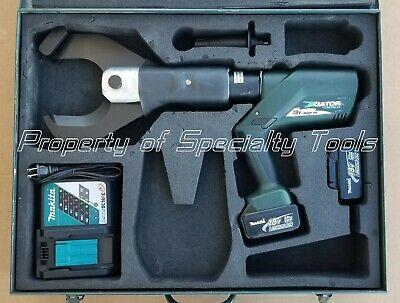 Greenlee Gator Esc105l Battery Wire Cutter 4 Al Cu Cable Cutting Tool Esc105