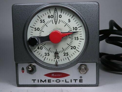 Singer M-59 Master Time-O-Lite Photography Enlarger Darkroom Timer