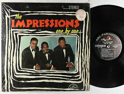 Impressions - One By One LP - ABC-Paramount VG+ Shrink