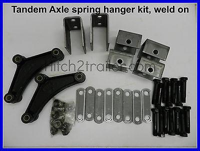 Tandem Axle Trailer Suspension Spring Hanger Kit 3500-7000 lb weld on 4102