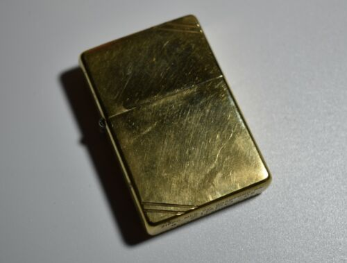 Vintage Collectible Zippo Lighter- PAT.2032695 Made In U.S.A Bradford PA