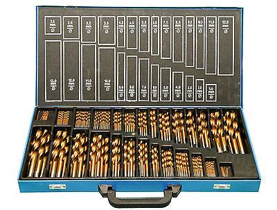 Bohrer Set 230 tlg. TITAN (+500%) HSS TiN Metallbohrer Spiralbohrer 1 - 13mm