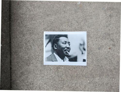 CHICAGO BLUES PHOTO: MUDDY WATERS smoking cigarette 1960s original print 8x10