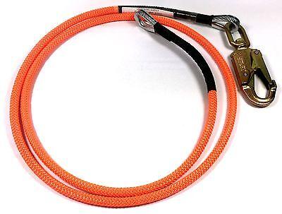 "US Rigging Arborist Flip Line 1/2"" x 10' - 1/4"" Steel Wire Core FLS1610 Flipline"