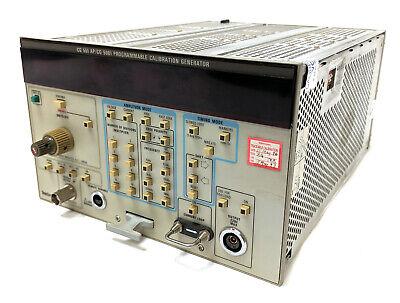 Tektronix Cg 551 Ap Cg 5001 Programmable Calibration Generator W Opt 1 As-is