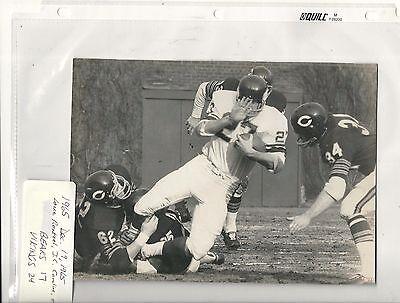 Vintage CHICAGO BEARS WIRE / PRESS PHOTO: 1965 vs. Minnesota Vikings  6x8