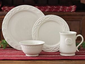 Levingston Dinnerware by Park Designs, Williamsburg Tarpley, 16 Piece Set for 4