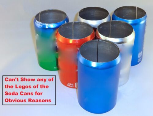 6 pack  12 oz Beer Soda Can Covers, Hider Misc Brands & Color Sleeve Wrap Golf