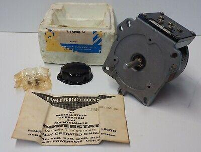 Nib Superior Powerstat Variac 116bu 10 Amps 120 Vac 5060 Hz